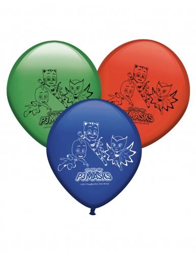 8 palloncini in lattice Super Pigiamini