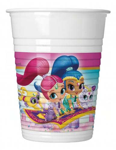 8 Bicchieri in plastica Shimmer e Shine™