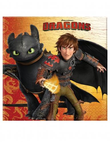20 Tovaglioli di carta Dragons™