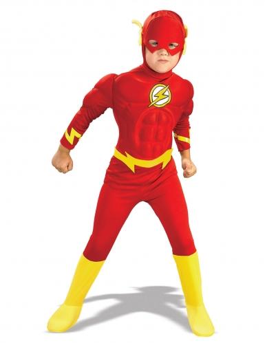 bellissimo a colori risparmia fino al 60% vendita a buon mercato nel Regno Unito Costume da Flash™ effetto supermuscoloso per bambino
