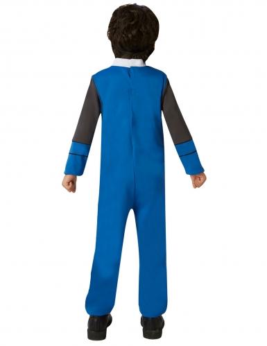 Costume classico Power Rangers Ninja Steel™ blu bambino -1