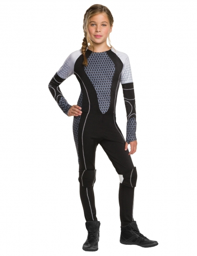 Costume Katniss Hunger Games™ per bambina