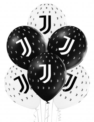 12 Palloncini della Juventus™ neri e bianchi