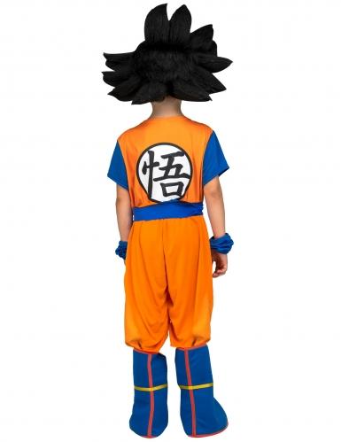 Cofanetto costume con parrucca Goku Dragon Ball™ bambino-2
