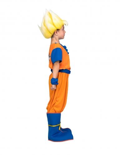 Cofanetto costume Goku Super Sayan Dragon Ball™ bambino con parrucca-1
