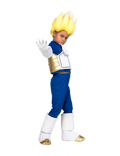 Cofanetto costume e parrucca Super Sayan Vegeta Dragon Ball™ bambino-1