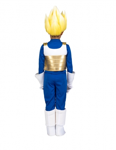 Cofanetto costume e parrucca Super Sayan Vegeta Dragon Ball™ bambino-2