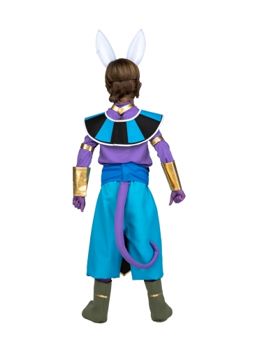 Cofanetto costume con maschera Bills Dragon Ball™ bambino-2