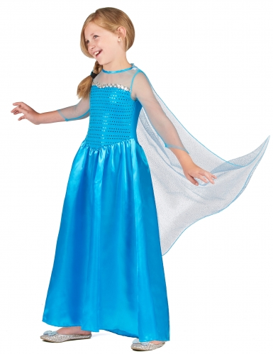 Costuma Regina dei ghiacci bambina-1