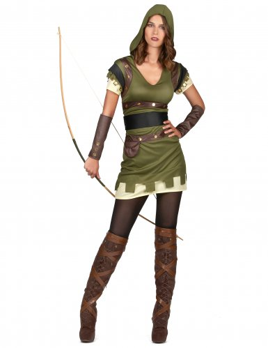 Costume arciere verde donna