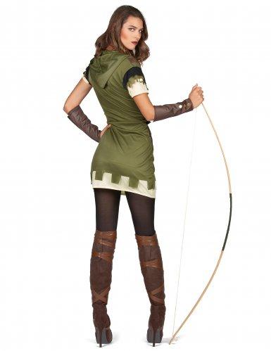 Costume arciere verde donna-2