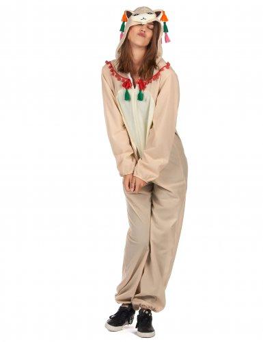 Costume tuta con cappuccio da lama per donna