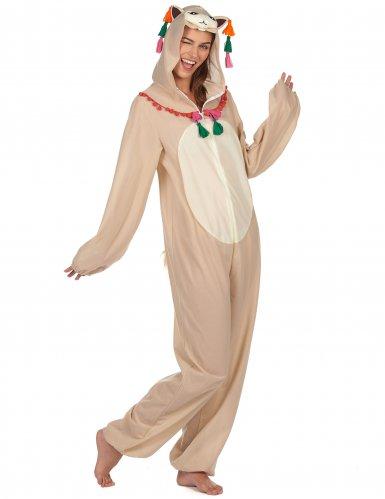 Costume tuta con cappuccio da lama per donna-1