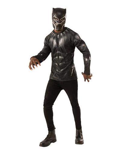 Tshirt e maschera Black Panther Infinity War™ adulto