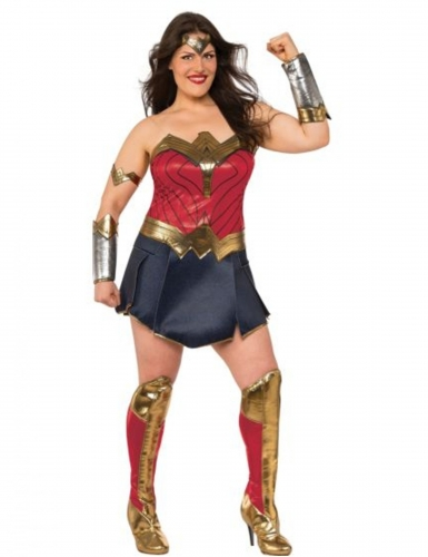 Costume deluxe Wonder Woman Justice League™ taglie grandi donna