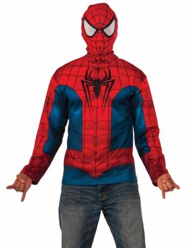 rivenditore all'ingrosso bb6ad 36c43 Felpa con cappuccio Spiderman™ adulto