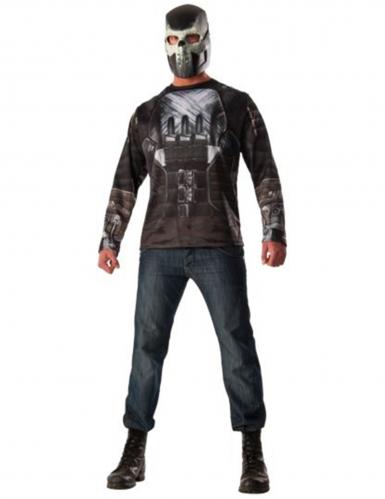 Maglia e Maschera Crossbones™ Captain America Civil War™ adulto