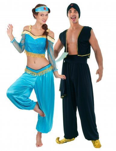 Costume di Coppia orientale per adulti