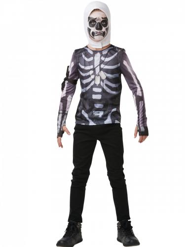 Maglia e maschera da Skull Trooper di Fortnite™ per adolescente