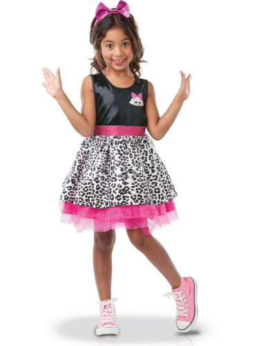 Costume Diva LOL Surprise™ lusso per bambina