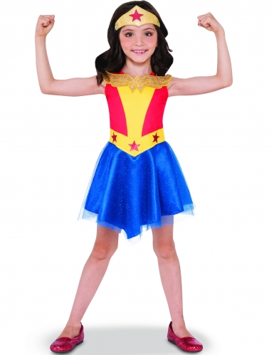 Costume Wonder Woman DC Super Hero Girls™ bambina