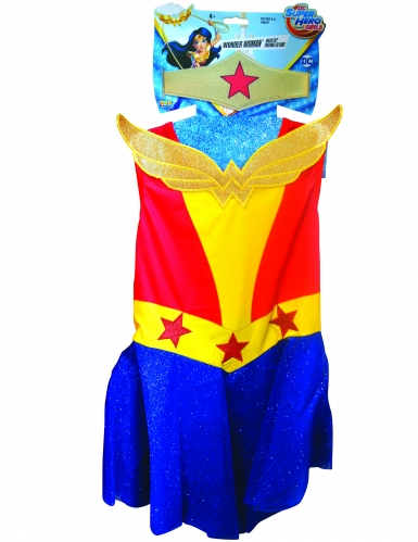Costume Wonder Woman DC Super Hero Girls™ bambina-1