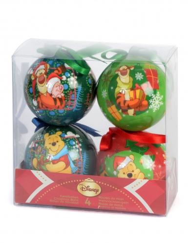 4 Palline di Natale Winnie The Pooh-1