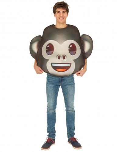 Costume Emoji Scimmia™ per adulto