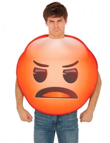 Costume Emoji™ Arrabbiato per adulto