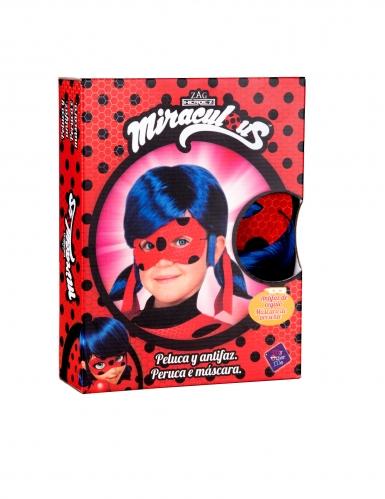 Cofanetto parrucca e maschera di Ladybug™ per bambina-1
