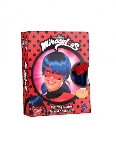 Cofanetto parrucca e maschera di Ladybug™ per adulto-1