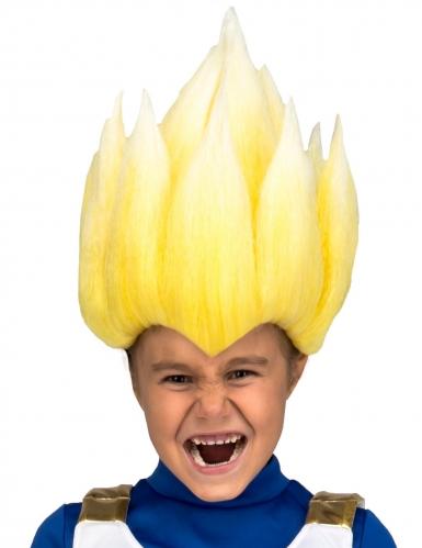 Parrucca Super sayan Vegeta dragon Ball™ bambino