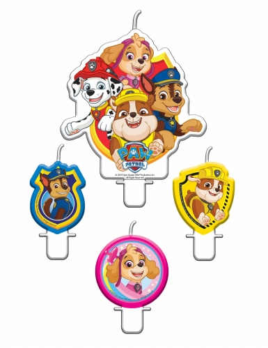 4 candeline di compleanno Paw Patrol™