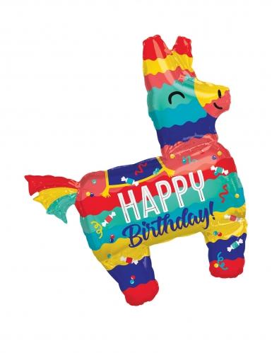 Palloncino alluminio pignatta lama Happy Birthday
