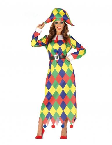 Costume da Arlecchino per donna