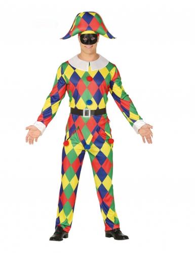 Costume da Arlecchino per uomo