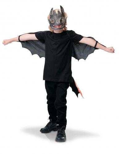 Kit ali e maschera Sdentato Dragon Trainer 3™ per bambino