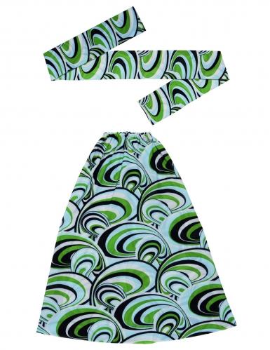 Kit bandana e gambali anni '70 waves-1