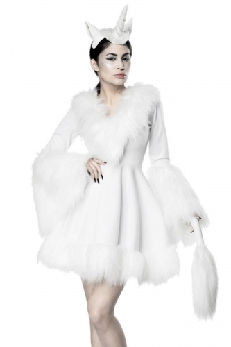 Costume unicorno bianco sexy donna