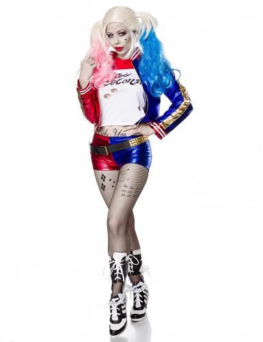 Costume da sexy Giullare sociopatico per donna-1