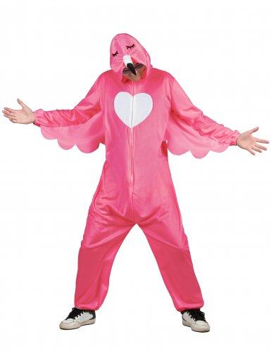 Costume fenicottero rosa per uomo