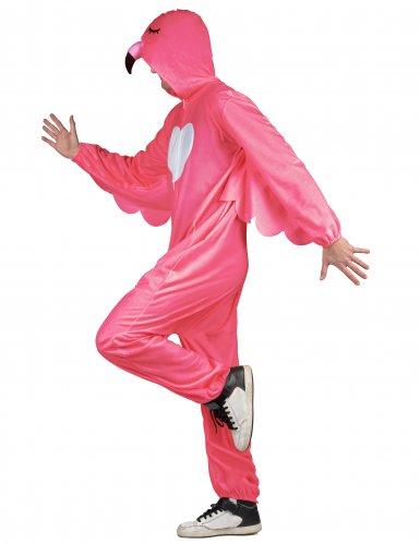 Costume fenicottero rosa per uomo-1