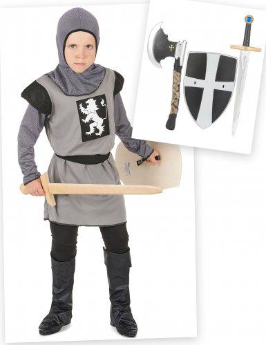 Set Costume da cavaliere per bambino con accessori