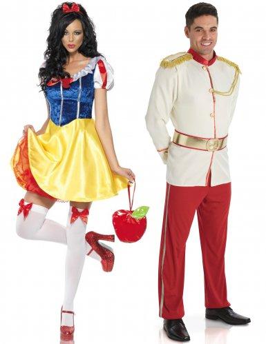 Costume di coppia Principessa e Principe azzurro per adulto