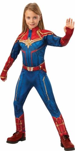 Costume deluxe Captain Marvel™ per bambina-1