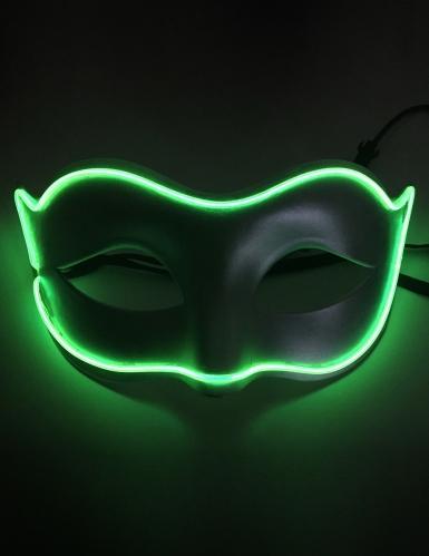 Maschera veneziana neon adulto