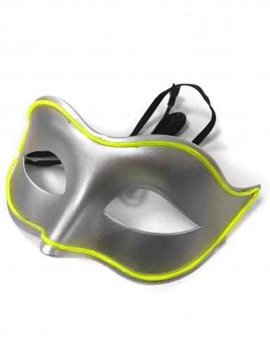 Maschera veneziana neon adulto-1