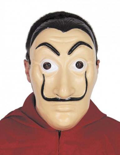 Maschera da bandito artista per adulto