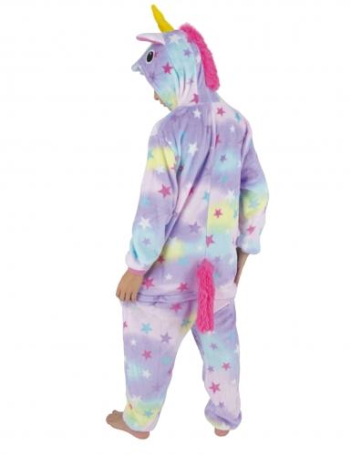 Costume tuta da unicorno con stelle per bambino-1