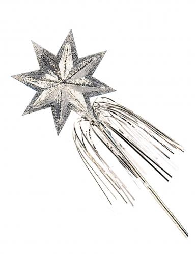 Bacchetta magica con stella argentata